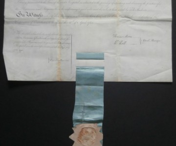 1784 Peter S Glentworth Diploma