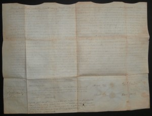 1797 New Jersey Deed - Thomas Yardley