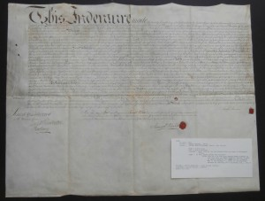 Deeds Signed by Colonial Mayors of Philadelphia