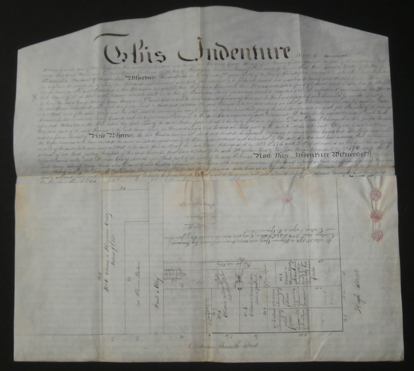 Collections of Early American Documents & Indentures